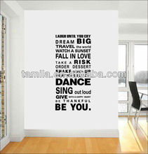 Laugh until you cry Quote Living Room Bedroom Wall Art Decal Sticker
