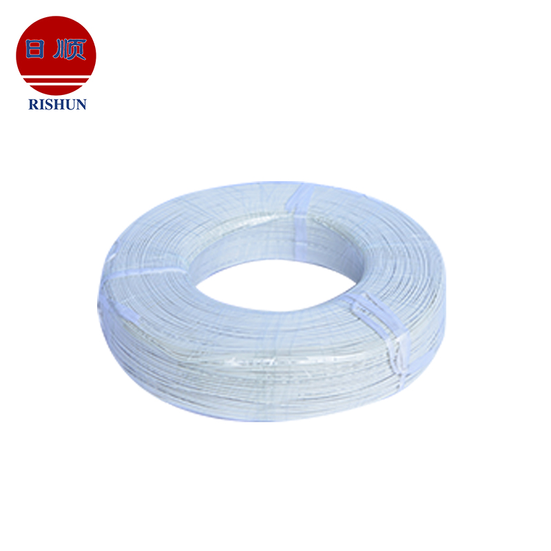 UL3122 200 centigrade silicone rubber insulated copper strand braid wire