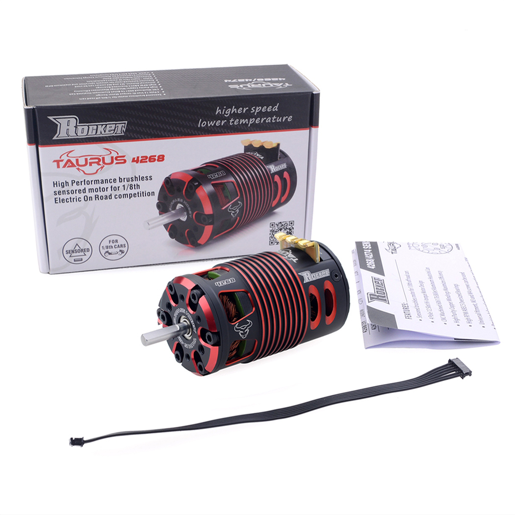 Surpass Rocket  4268 sensored motor for   1/8 4WD BRUSHLESS OFF-ROAD TRUGGY -Professional Electric Racing Car