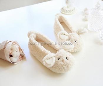 be22459da Womens Cute Bunny Slipper Shoes Fluffy Slippers - Buy Bedroom ...