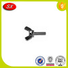 China Manufacturing special design anodized aluminum butterfly wing screw