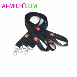 New Products Design Logo Sublimation Printed Polyester Lanyard Water Bottle Holder Neck Strap
