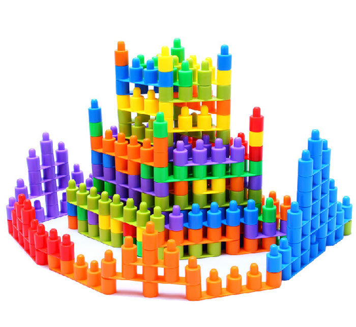 Building Bricks Kids Toys Plastic Bricks Toys Construction