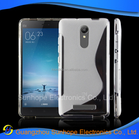 S line design tpu cell phone covers for Xiaomi Redmi Note 2 Pro