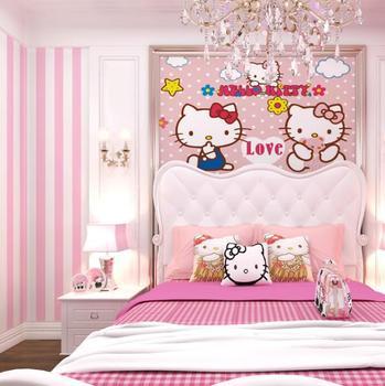 Children Room Wallpaper 3d Cartoon Wallpaper Boy Girl Kids Bedroom