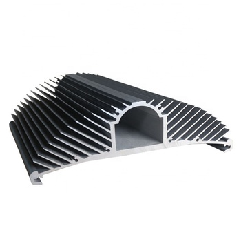 Custom extrusion aluminium industrial profile aluminium product for heat sink