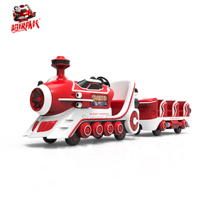 Plaza use high quality trackless electric tourist train for kid ride