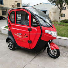 2018 NEW High Quality electric tricycle solar electric car for passenger