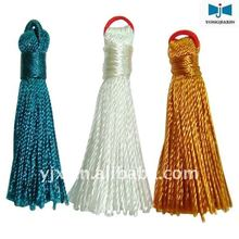 decorative wooden tassel for curtain jewelry