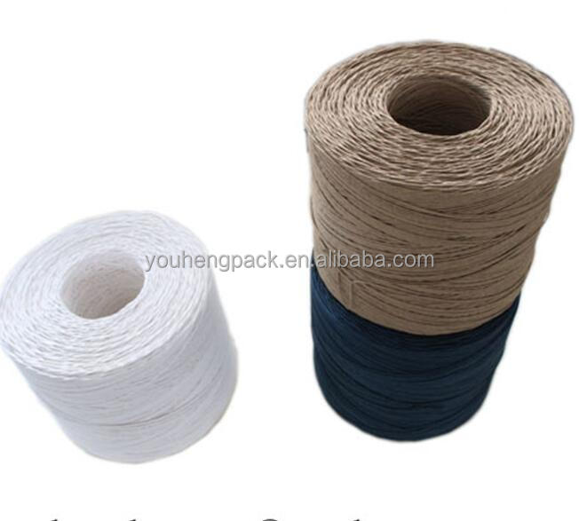 twisted rope kraft binding paper rope for garden and agriculture