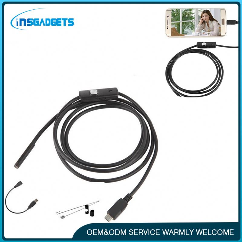 New premium 3.5 meters 7.0mm / 5.5mm usb endoscope camera snapshot ,h0ts2 wifi endoscope camera jimi security cctv camera