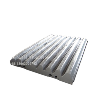 high manganese jaw crusher parts movable jaw plate for sale