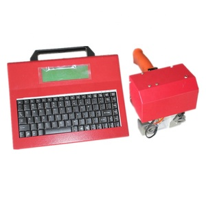 VIN number portable dot peen pneumatic marking machine