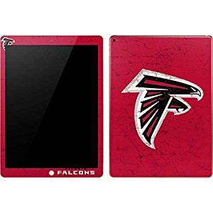 NFL Atlanta Falcons iPad Pro Skin - Atlanta Falcons - Alternate Distressed Vinyl Decal Skin For Your iPad Pro