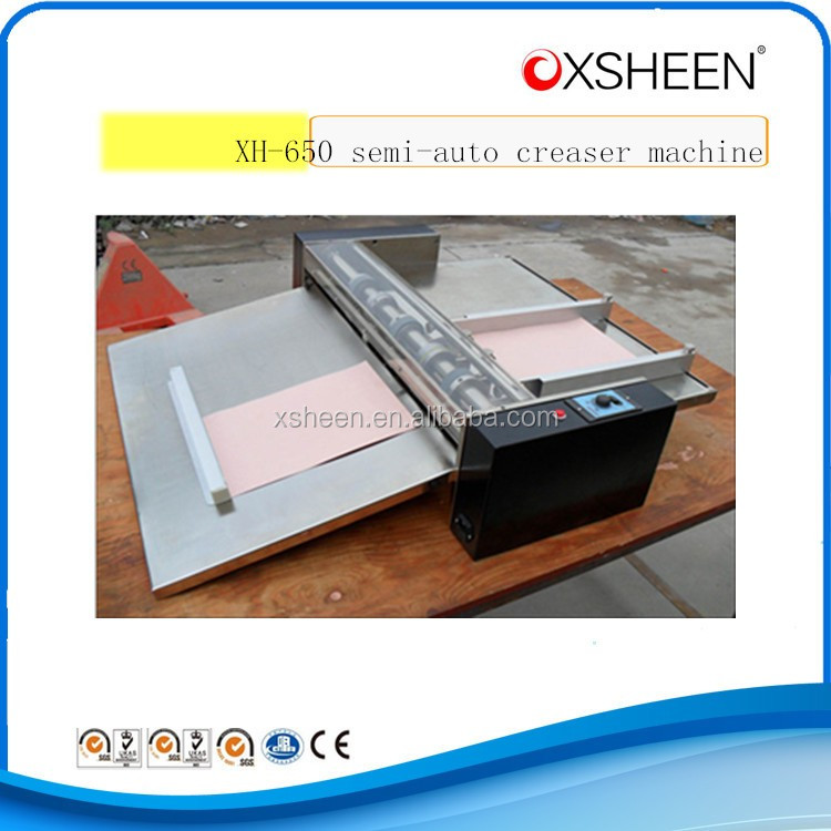 CE standard paper creaser machine,creaser and punching machine
