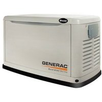 Generac Guardian Series 5887 20,000 Watt Air-Cooled Liquid Propane/Natural Gas Powered Standby Generator Without Transfer Switch