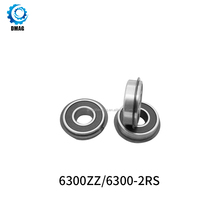10*35*11mm 6300 2RS deep groove ball bearings 6301 2RS 12*37*12mm