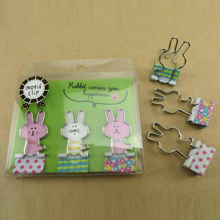 Shaped Custom Binder Clips,Personalized Binder Clips,Stationery Clamp