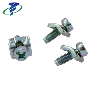 Hot Sale Phillips Cheese Head Machine Thread Screw With Washer