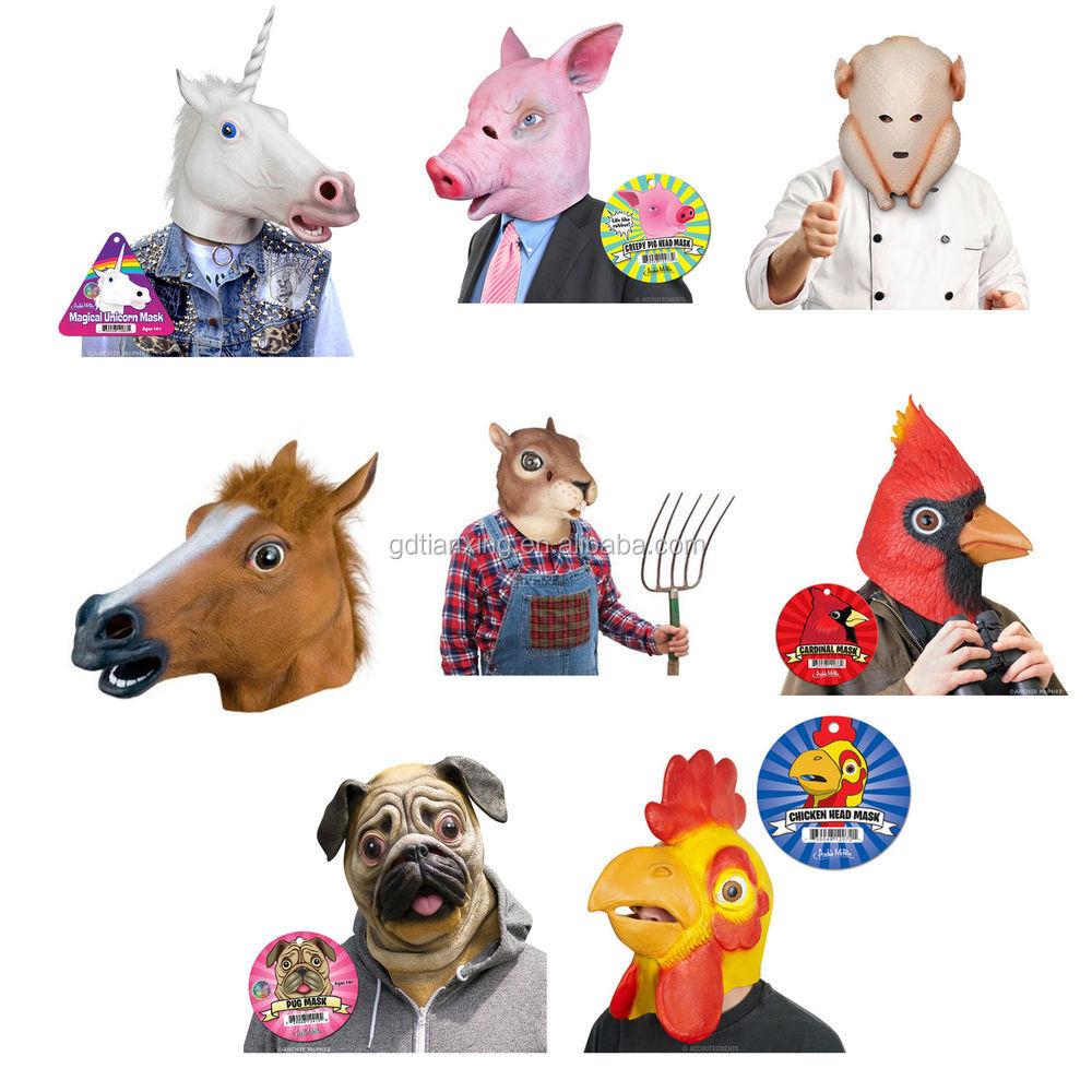 Wholesale Horse/Dog/Pets/Animals/Realistic/Cute/Face/Costume ...
