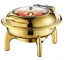 Chaffing Dish Buffet Food Warmer / Round Chafing Dish