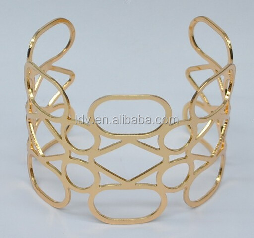 CLOSEOUT on the Open Cuff Bangle 2 Colours Bracelet