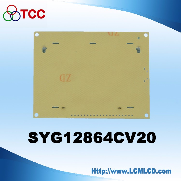 Industrial COG lcm 128*64 graphic display screen pcb ST7565R 12864 lcd module