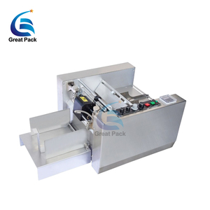 Automatic medical box date stamp coding machine