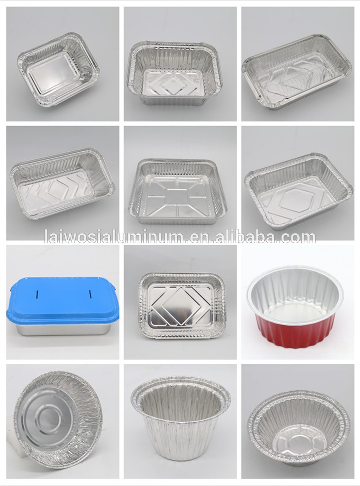 Disposable Microwave Pie Pans Aluminium Foil Bbq Grill Pan