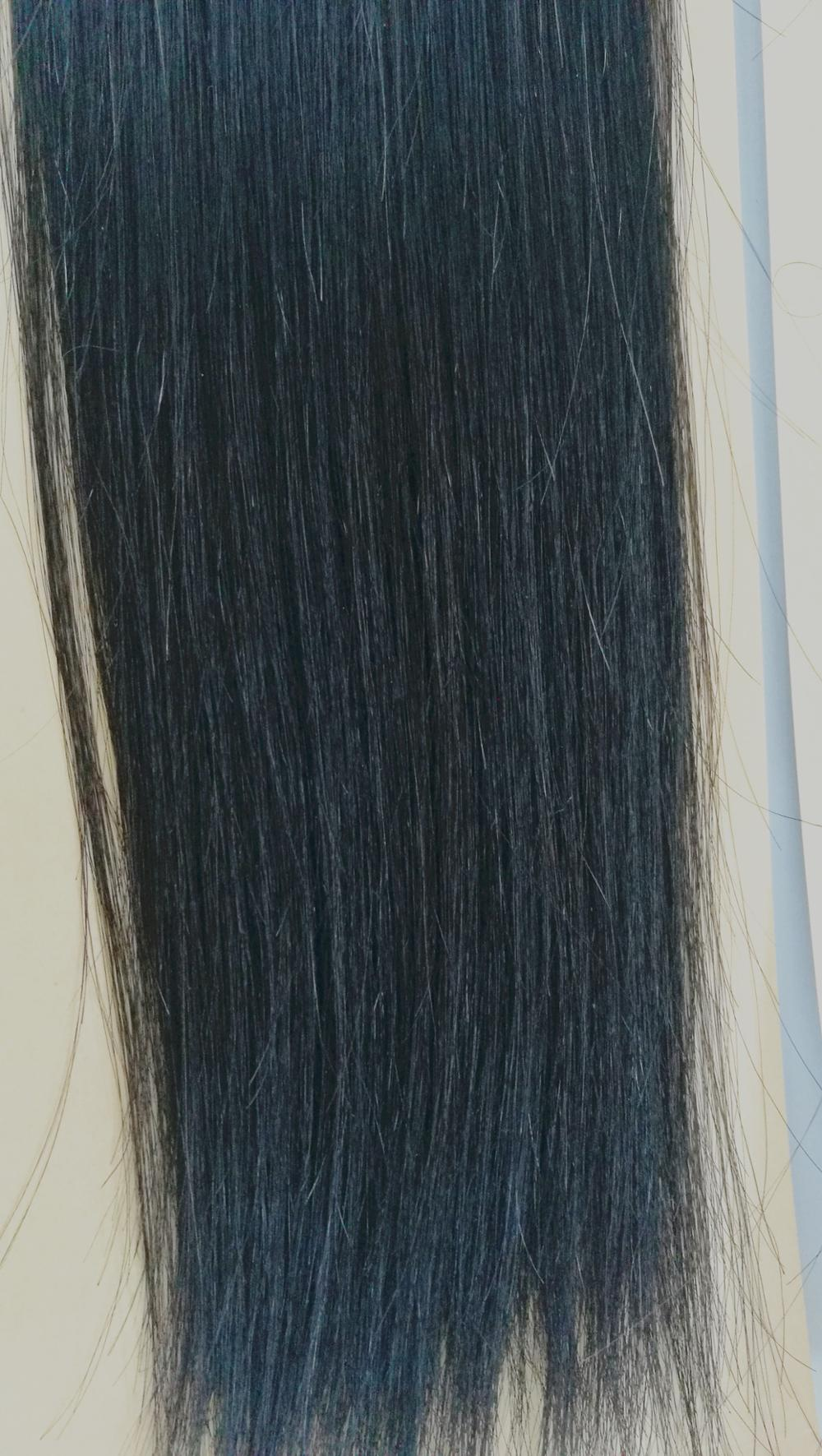 "Promotion! 100% Hair Weave Double Drawn Hair Club SINA 20"", 22"" 24"" BLACK 1b# 9a double drawn virgin hair"
