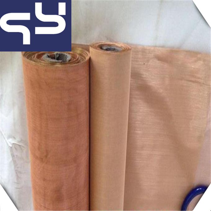 Cheap Promotional Prices The Brass Wire Mesh/copper wire mesh