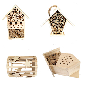 Customized design mini insect hotel wood house cheap
