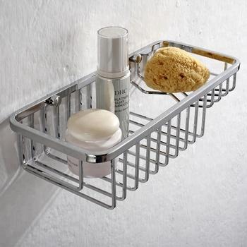 Wall Mount Wire Basket   Wall Mounted Wire Basket Shelf For Bathroom Shampoo Holder Buy