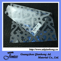 removable clear pvc static cling vinyl film for decoration