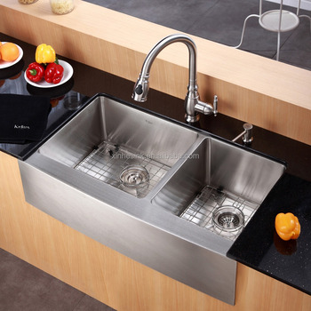 American Cupc Stainless Steel Apron Front Farmhouse Kitchen Sink
