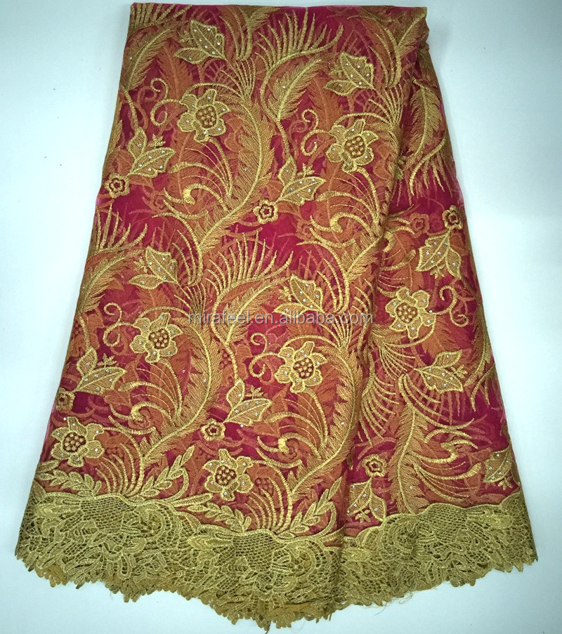 Lc latest wholesale african excellent lace fabric