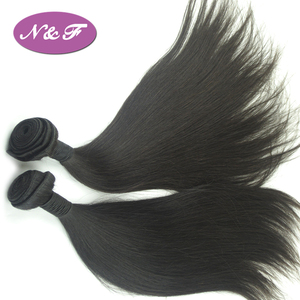 Natural hair extension wholesale brazilian remy hair bundle virgin straight human hair