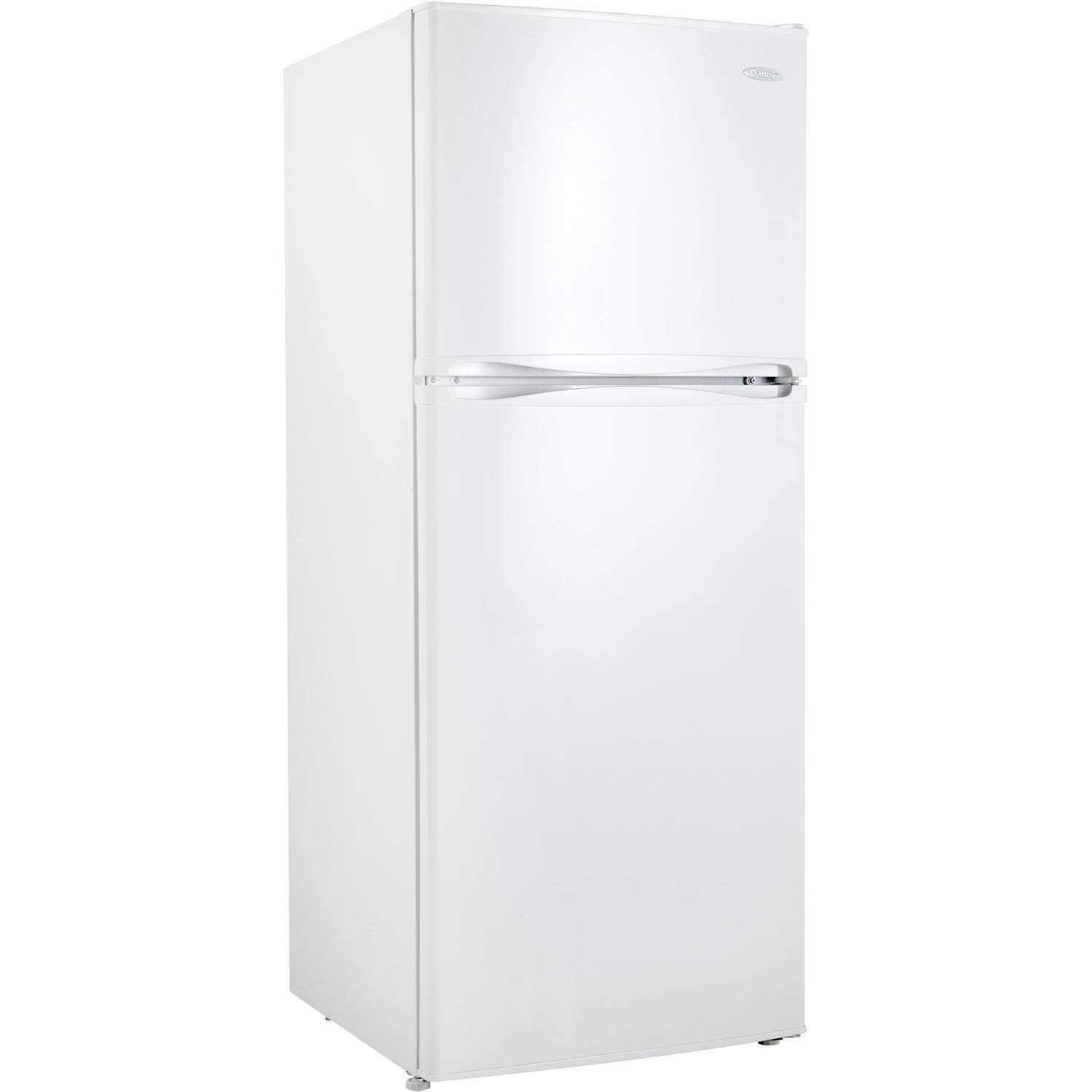 Trustpurchase 12.3 Cubic Foot Frost-Free Refrigerator with Top-Mount Freezer in White, Frost-Free Operation for Hassle-Free Maintenance, Separate Electronic Controls for Refrigerator and Freezer
