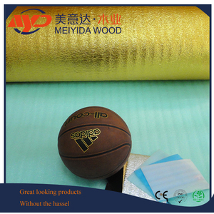 2mm/3mm Cheap Laminate Flooring golden&silver EVA Foam Underlayment