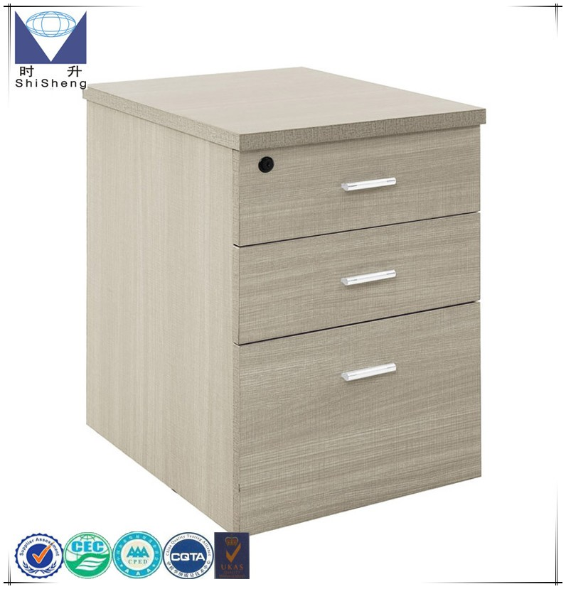 Inside Drawer Wood Low Storage Cabinet