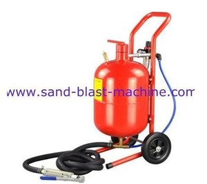 mini sandblaster for car sand blasting