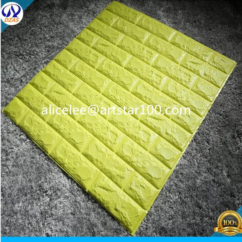 Low Price Products High Quality Pvc Rock Design Foam Brick ...