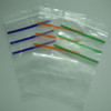 Clear Grip Self Press Seal Resealable Polythene Zip Lock Plastic Bags