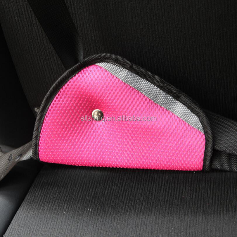 Auto Seat Belt Pillow Car Safety Belt Protect, Shoulder Pad, Adjust Vehicle Seat Belt Cushion for Kids, Blue