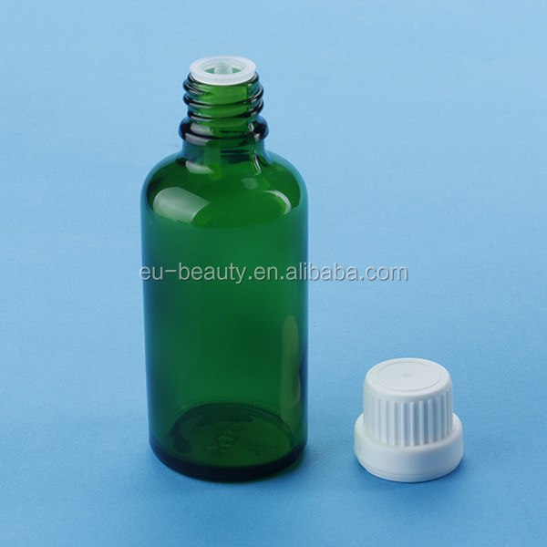 100 ml glass essential oil bottle with tamper ring cap