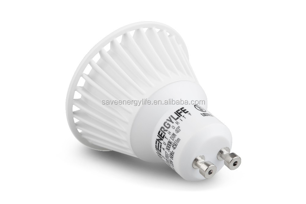 Gu led lamp with protective cover ° degrees kelvin