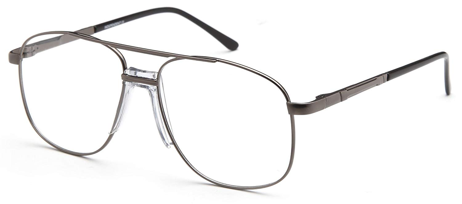 74c0a6d429d Get Quotations · Mens Oval Glasses Frames Prescription Eyeglasses 57-15-145