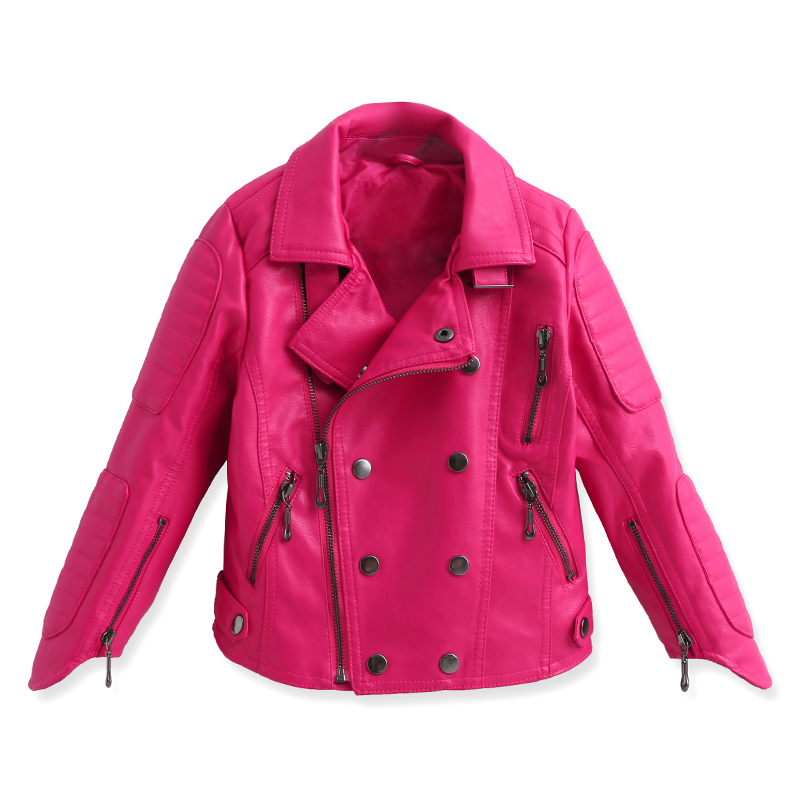 Cheap Girls Pink Leather Jacket, find Girls Pink Leather Jacket ...