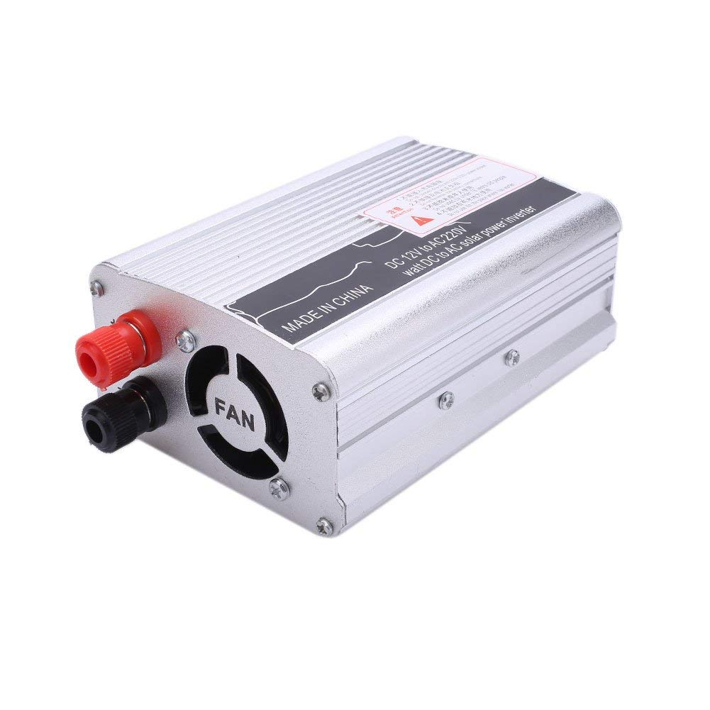 Power Inverter Car Inverter Portable 3000W DC12V to AC220V Automobile Power Supply Car_Silver