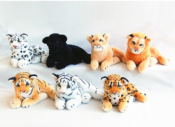 Chinese Supplier Soft Animal Toy Stuffed Tiger Plush Toy White ...